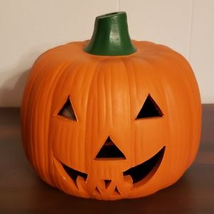 Cute Earthenware Halloween Jack O' Lantern